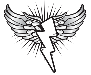 wing and bolt logo